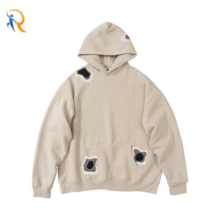 Street Fashion Brand Simple Style Jacket Retro American Loose Sweater Oversized Hoodies