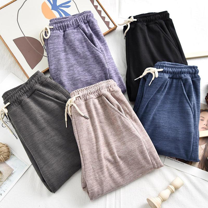 Sweatpants Women′s High Waist Loose Japanese All-Match Women′s Pants Outer Wear Casual Home Pants Women