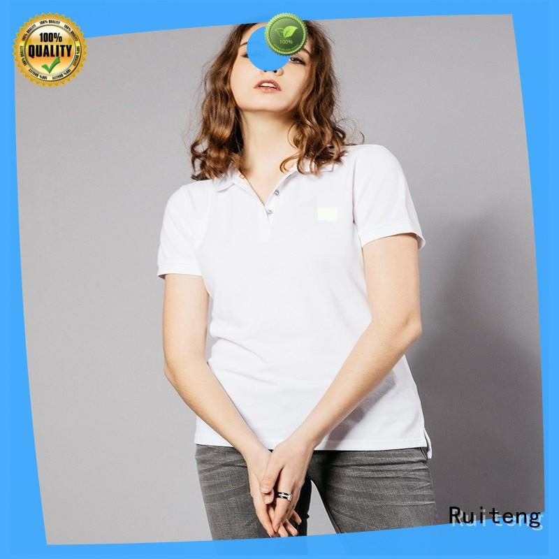 Ruiteng excellent polo tee shirts supplier for gym