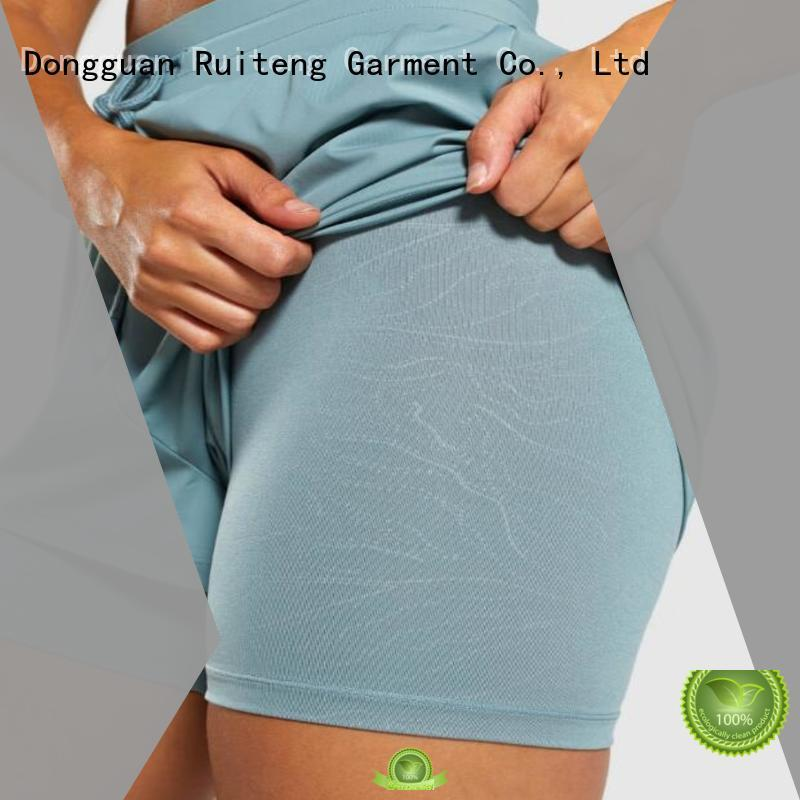 Ruiteng Latest loose fit shorts women's factory for gym