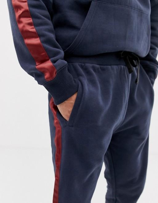 Ruiteng-Fashion Hoodies Mens Originals Tracksuit With Leg Stripe In Slim Fit Rtc4-4