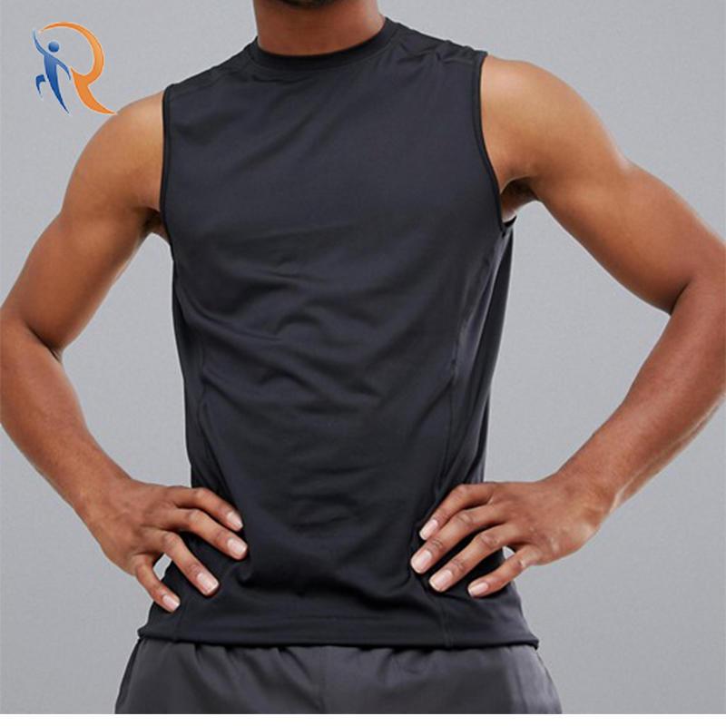 Mens fitness dry-fit function sport vest RTC5
