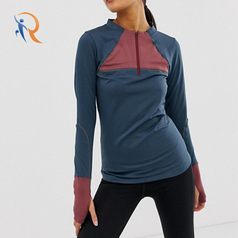female warmth long sleeve mid layer run top RTC17