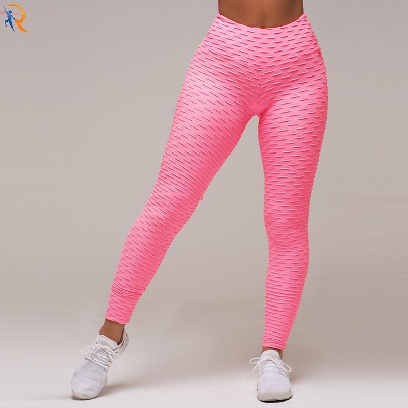 Dark flower tight height waist twerking peach buttock fluorescent yoga pants fitness pants lift buttock pull abdomen corgi buttock