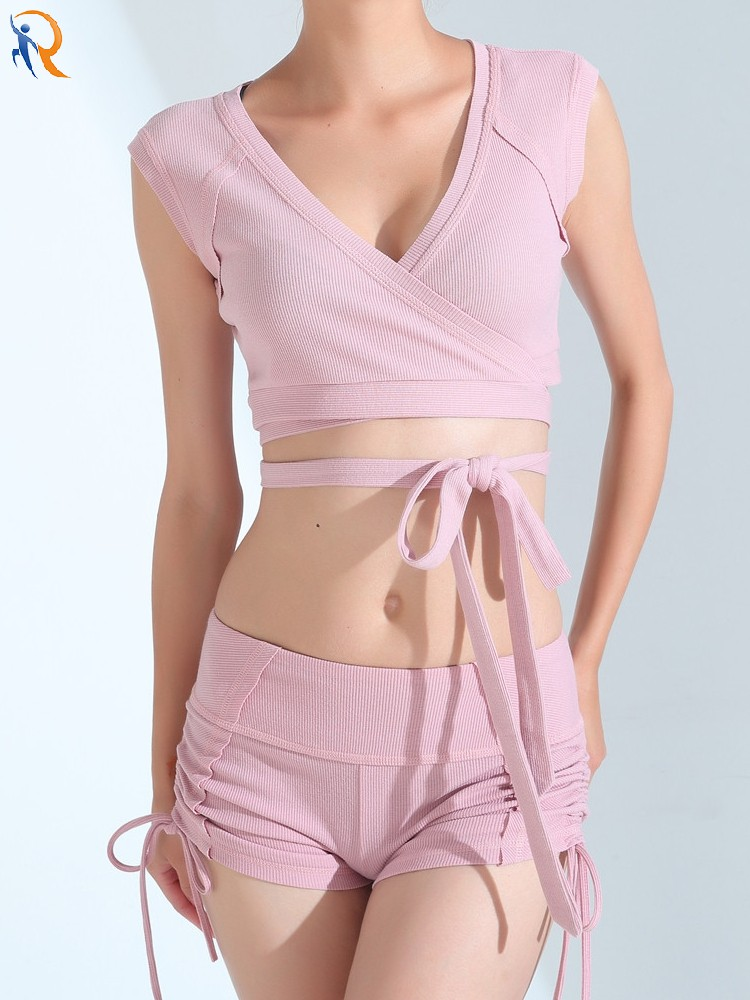 product-sports shorts stretch strap thin and prevent out of light wear square dance yoga pants casua