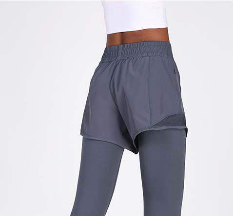 product-Outdoor quick dry running vacation two pairs of shorts, leggings, womens tight yoga pants, s