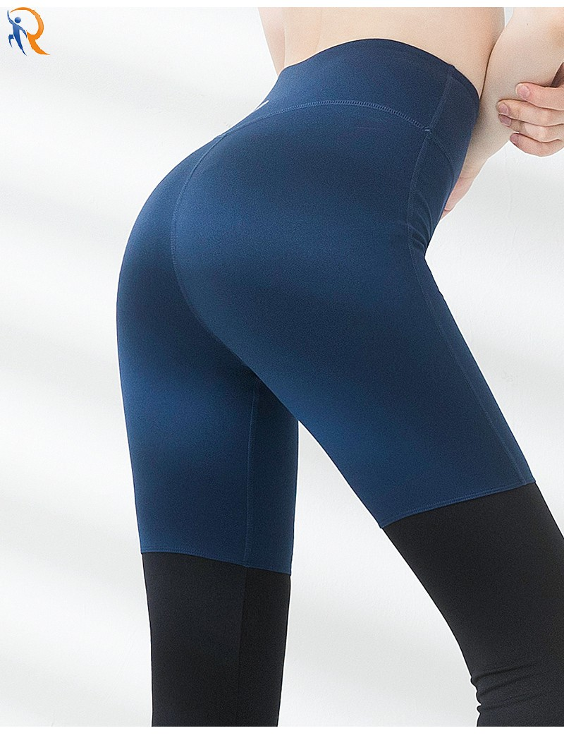 product-Ruiteng-Yoga pants female foot foot winter tight stretch professional sportswear high-waist