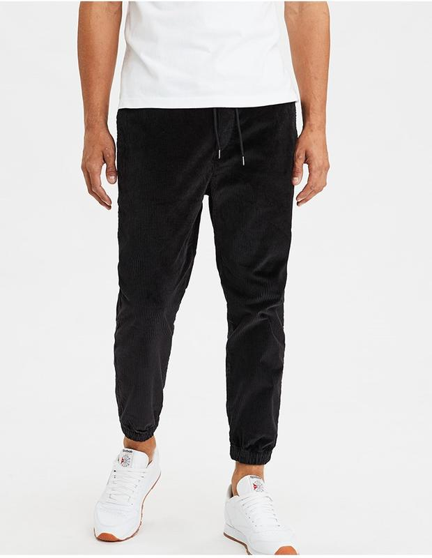 New comfortable corduroy jogging pants for men for fall