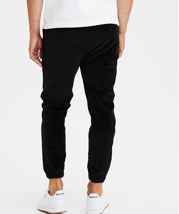 product-New comfortable corduroy jogging pants for men for fall-Ruiteng-img