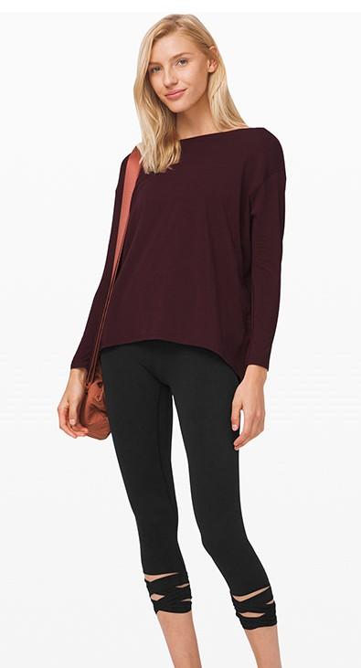 product-Ruiteng-Ladies cross design seven-point tan lili slimming sweatpants-img