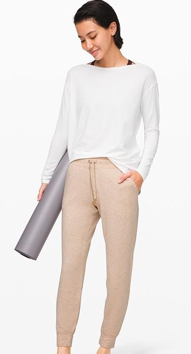 Women's new recreational breathable leg - strap jogging pants track pants