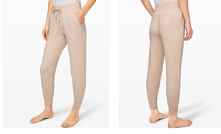 product-Womens new recreational breathable leg - strap jogging pants track pants-Ruiteng-img