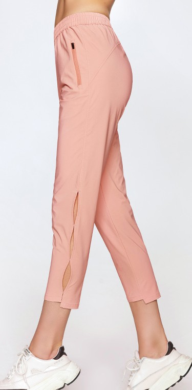 product-Ruiteng-Ladies quick - dry knot hollowed-out woven 9 - minute trousers-img