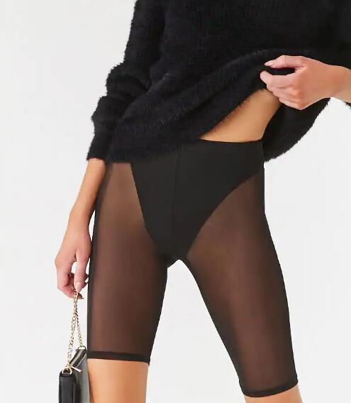 Womens sexy mesh short RTM-295