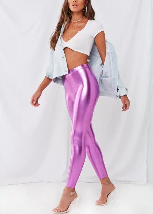 Womens shiny leggings RTM-290