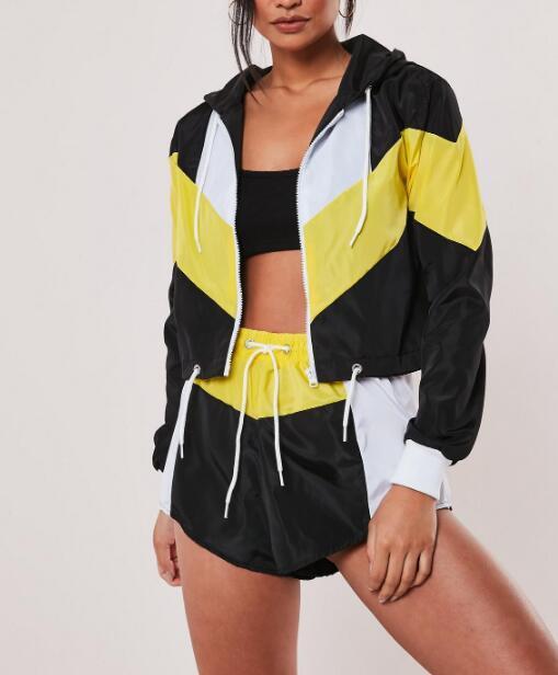 Womens Colorblock Jacket RTM-287