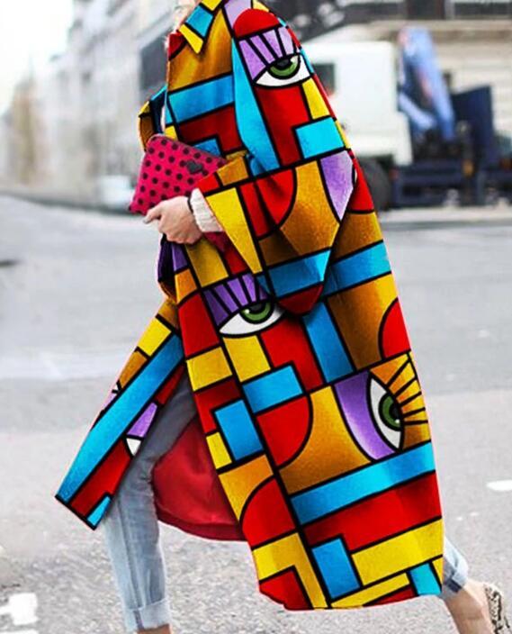 product-Ruiteng-Fashion Geometric Color Printed Coat RTM-285-img