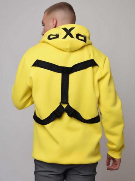 Mens Hoodie with Back straps RTM-272