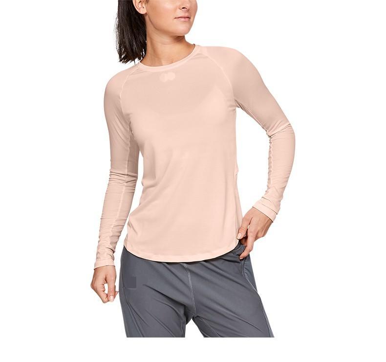 Round lead runner sport long sleeve T-shirt