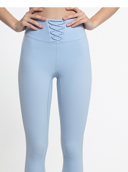 product-Ruiteng-Womens quick-drying high-elastic lace-up 9 point leggings-img