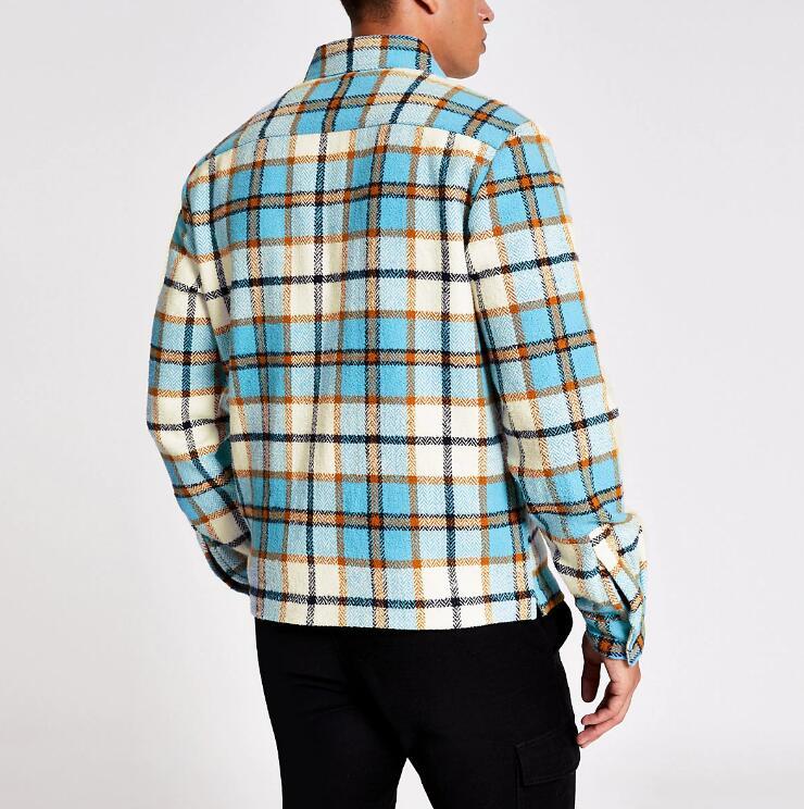 product-Mens fit zip overshirt RTM-244-Ruiteng-img