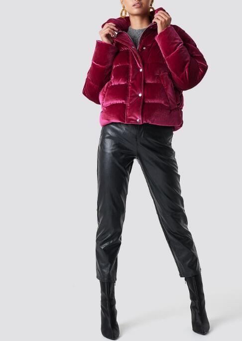Womens puff jacket RTM-233