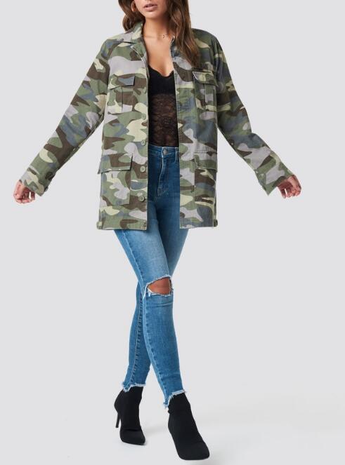 Women camo jacket RTM-229