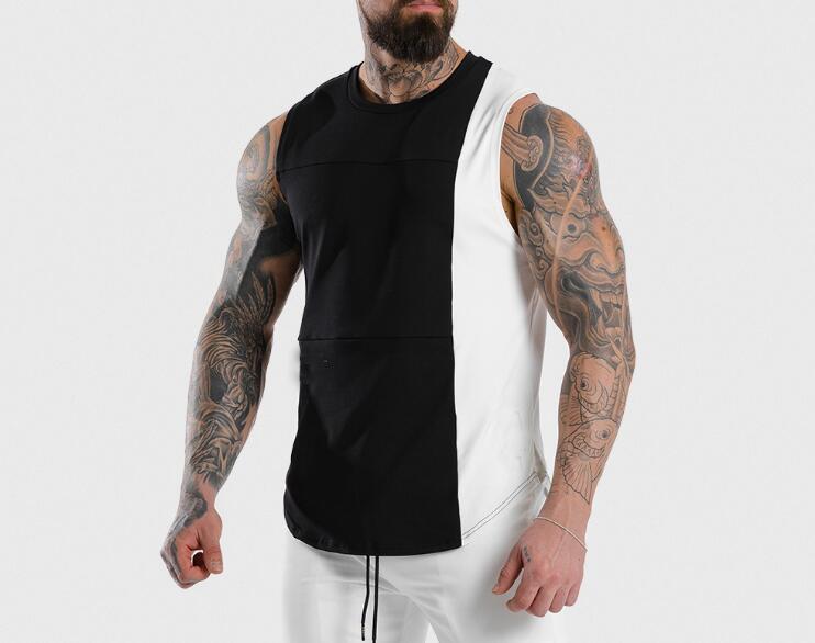 product-mens sleeveless hoodie-Ruiteng-img