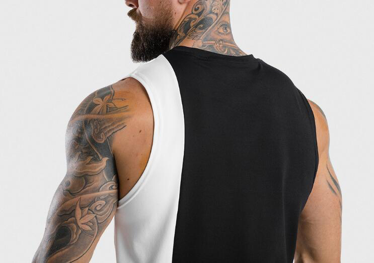 product-Mens light color sleeveless hoodie RTM-216-Ruiteng-img