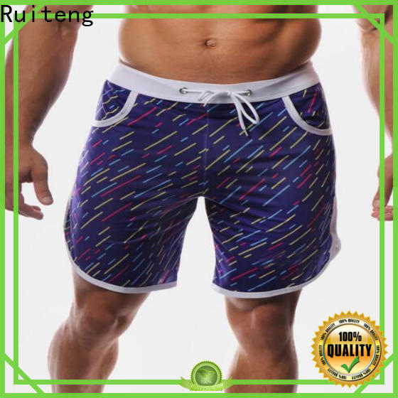 Ruiteng Custom personalized running shorts for gym