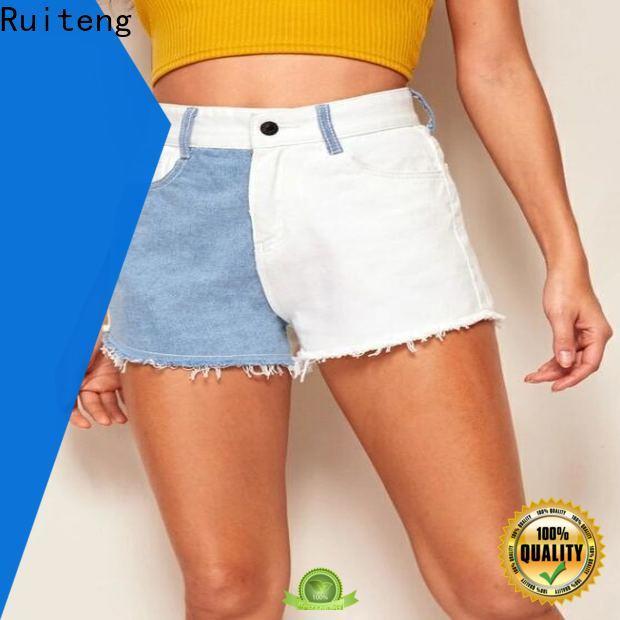 Ruiteng Custom ladies gym shorts manufacturers for running