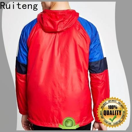 Ruiteng Custom lightweight athletic jacket manufacturer for outdoor