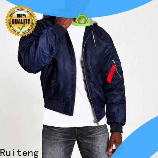 Ruiteng Latest custom logo sports jackets customized for walk