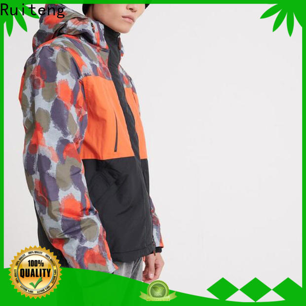 Ruiteng Latest customize sports jackets for outdoor
