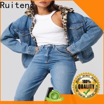 Ruiteng custom logo sports jackets manufacturer for running
