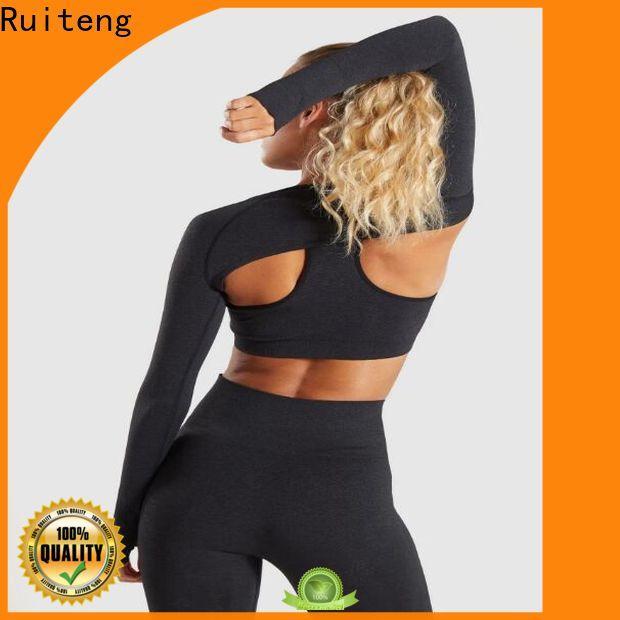 Ruiteng yoga tank tops manufacturer for indoor