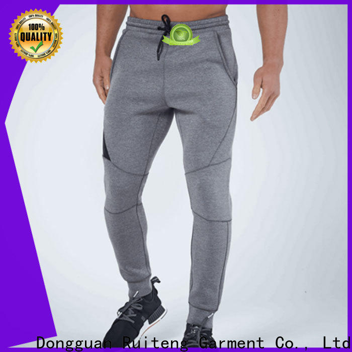 Ruiteng mens fashion joggers for gym