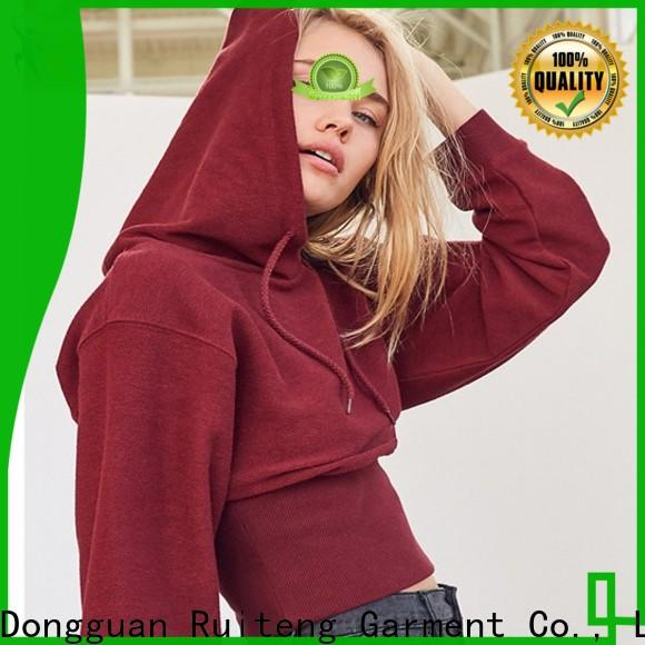 Ruiteng Latest sports hoodies customized for indoor