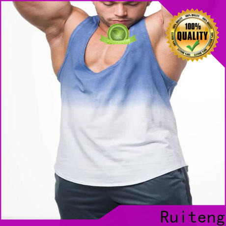 Ruiteng Wholesale activewear shirts manufacturers for gym