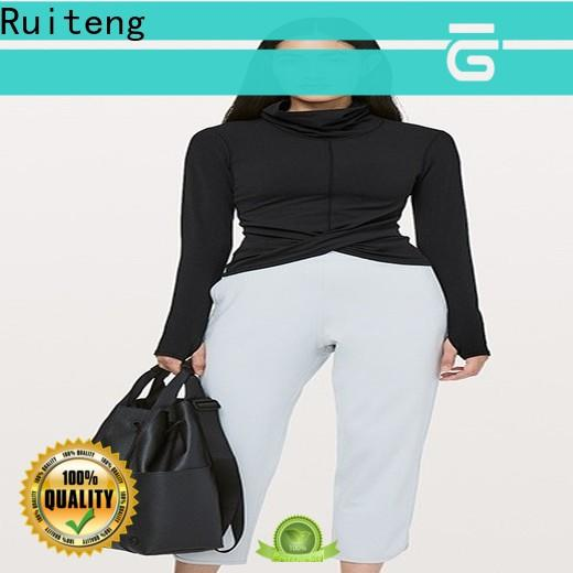 Ruiteng Top exercise wear factory for sports