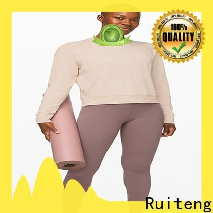 Ruiteng High-quality fitness workout clothes manufacturers for running