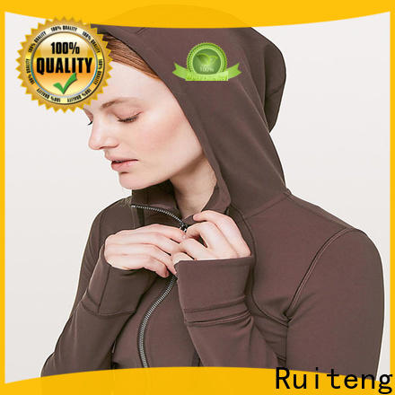 Ruiteng Wholesale comfy hoodies womens factory for walk
