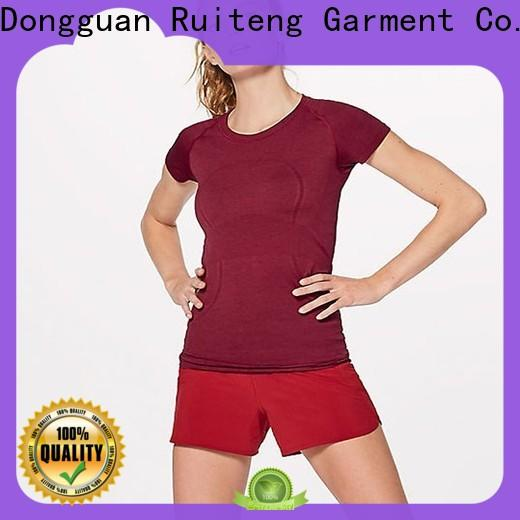 Ruiteng Best women's fitness shirts from China for gym