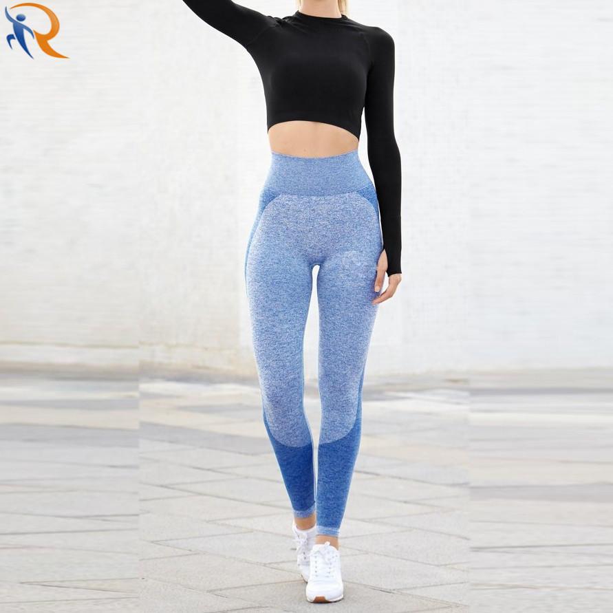 Women Soft Quality Long Seamless Sport Wear Pants Yoga Leggings