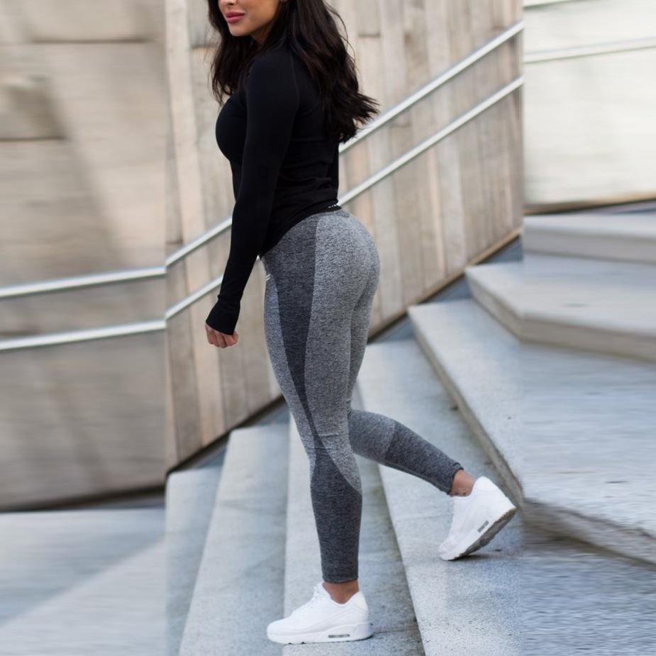 product-Women Soft Quality Long Seamless Sport Wear Pants Yoga Leggings-Ruiteng-img