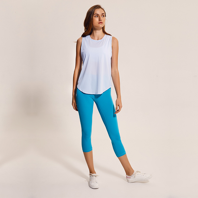 product-Gym Sport Casual Workout Yoga Fitness Tank Top Women-Ruiteng-img