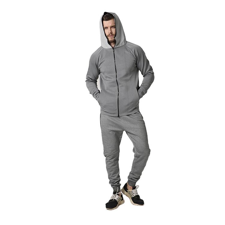 product-Men Sportswear Gym Coat with Zipper Fitness Hoodies-Ruiteng-img