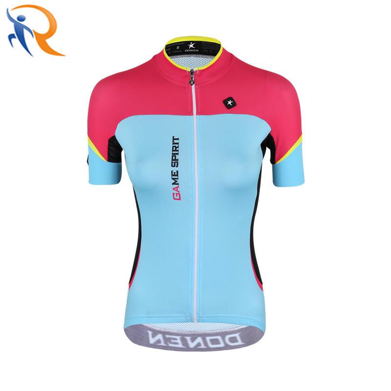 Women Fashion Short Sleeve Quick Dry Cycling Clothing