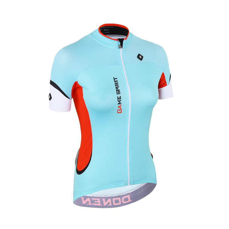 product-Women Fashion Short Sleeve Quick Dry Cycling Clothing-Ruiteng-img