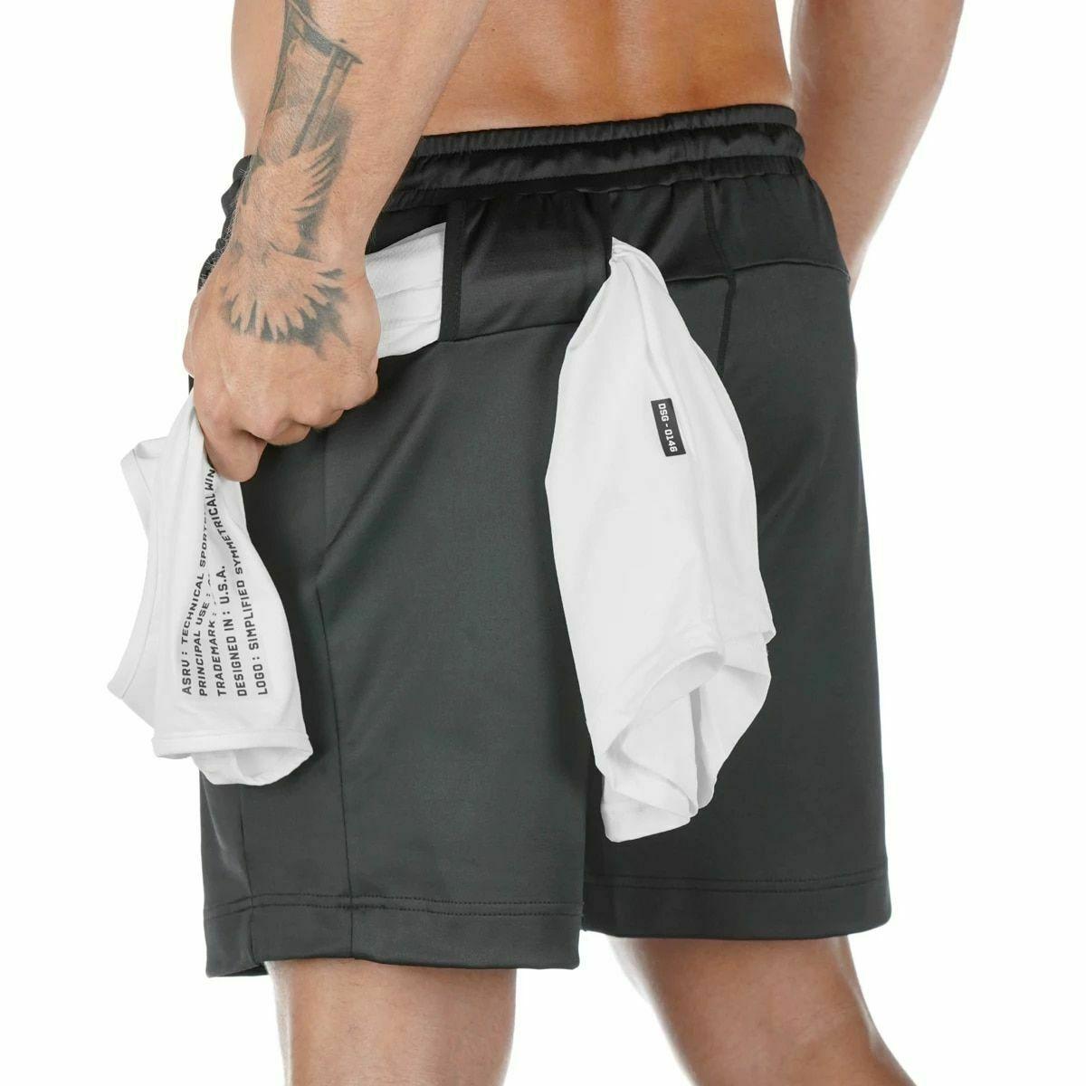 product-Ruiteng-Men Fashion Workout Sportswear Shorts-img